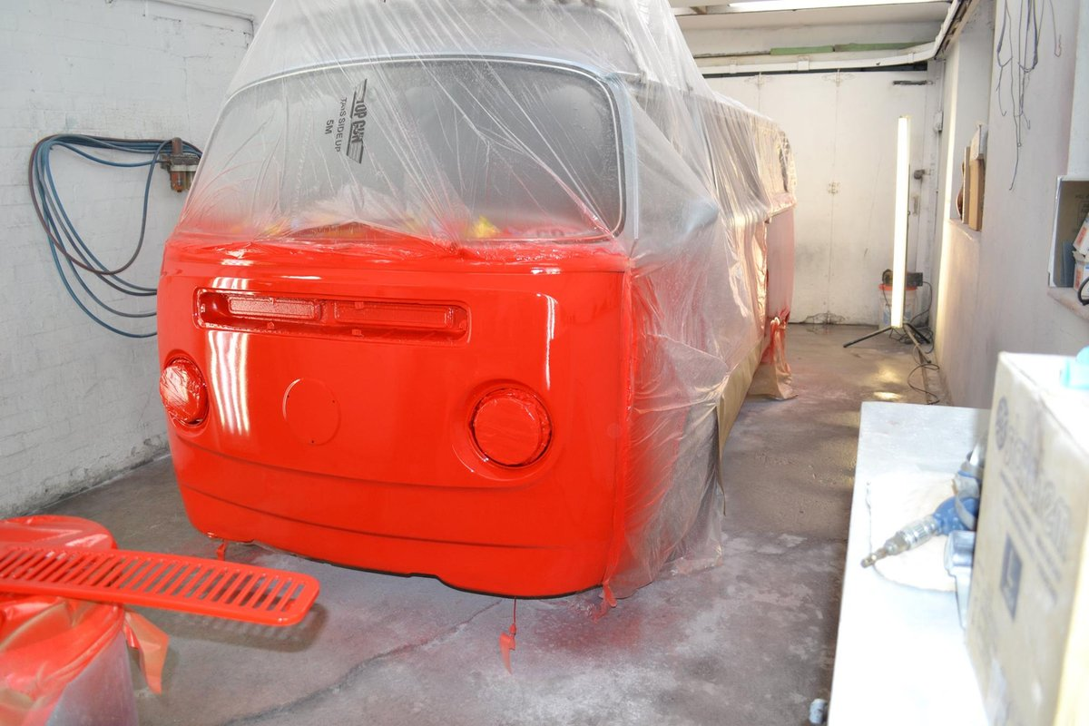 1975 VW BayWindow Camper fully restored For Sale (picture 2 of 6)