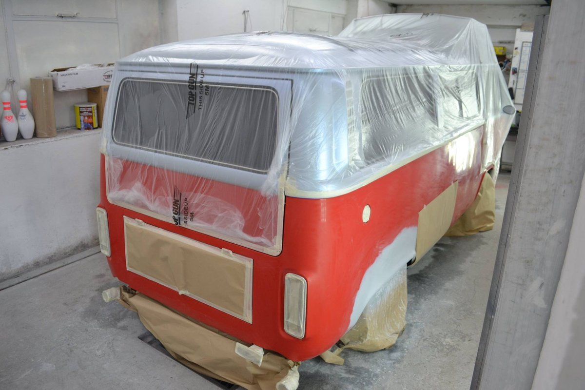 1975 VW BayWindow Camper fully restored For Sale (picture 3 of 6)