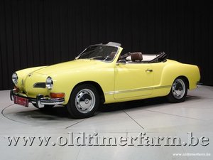 1972 Volkswagen Karmann Ghia Saxomat '72 For Sale