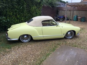 1960 Karmann ghia convertible 1962 For Sale