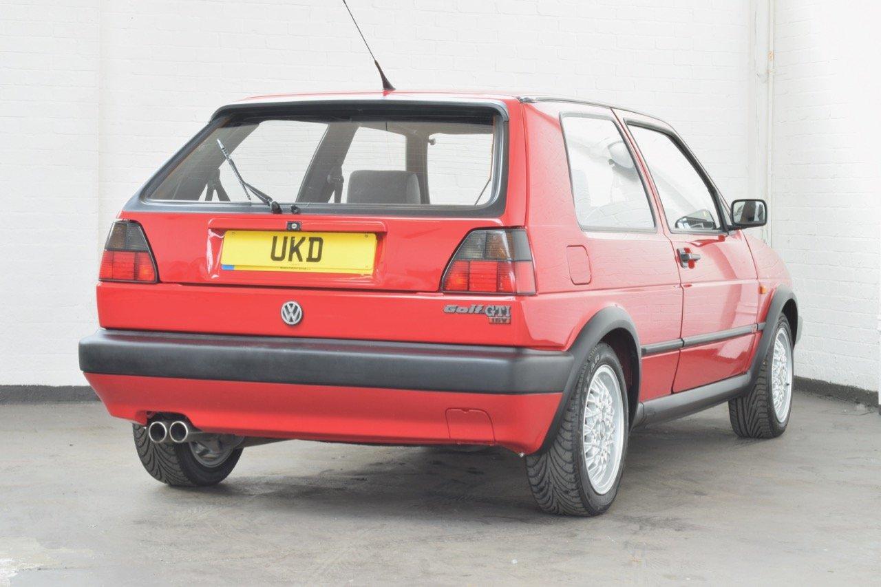 VW VOLKSWAGEN GOLF GTI 16V MK2 1.8 3DR 1992 RED For Sale (picture 12 of 12)