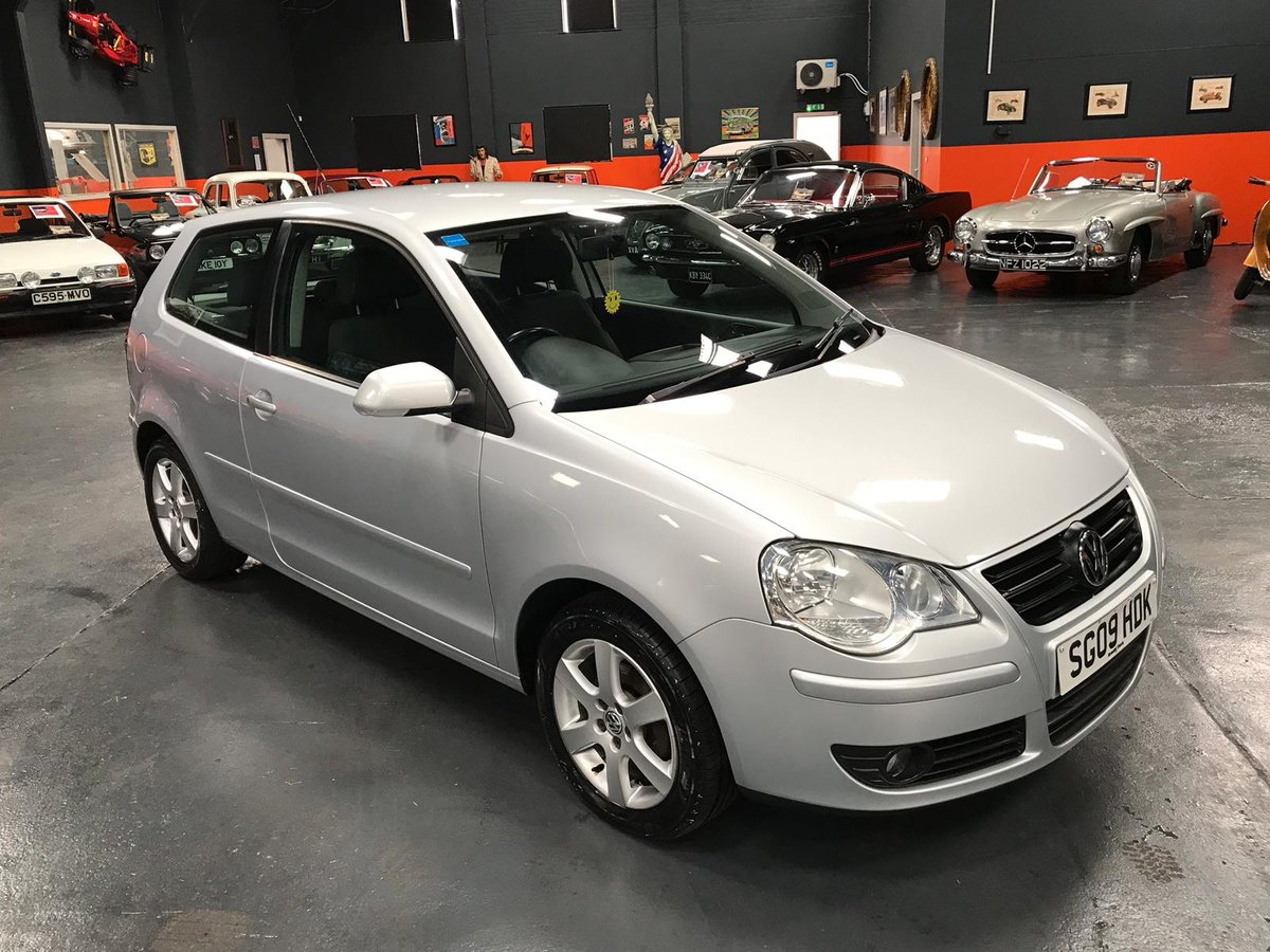 2009 VOLKSWAGEN POLO 1.2 MATCH 3d 59 BHP For Sale (picture 1 of 6)