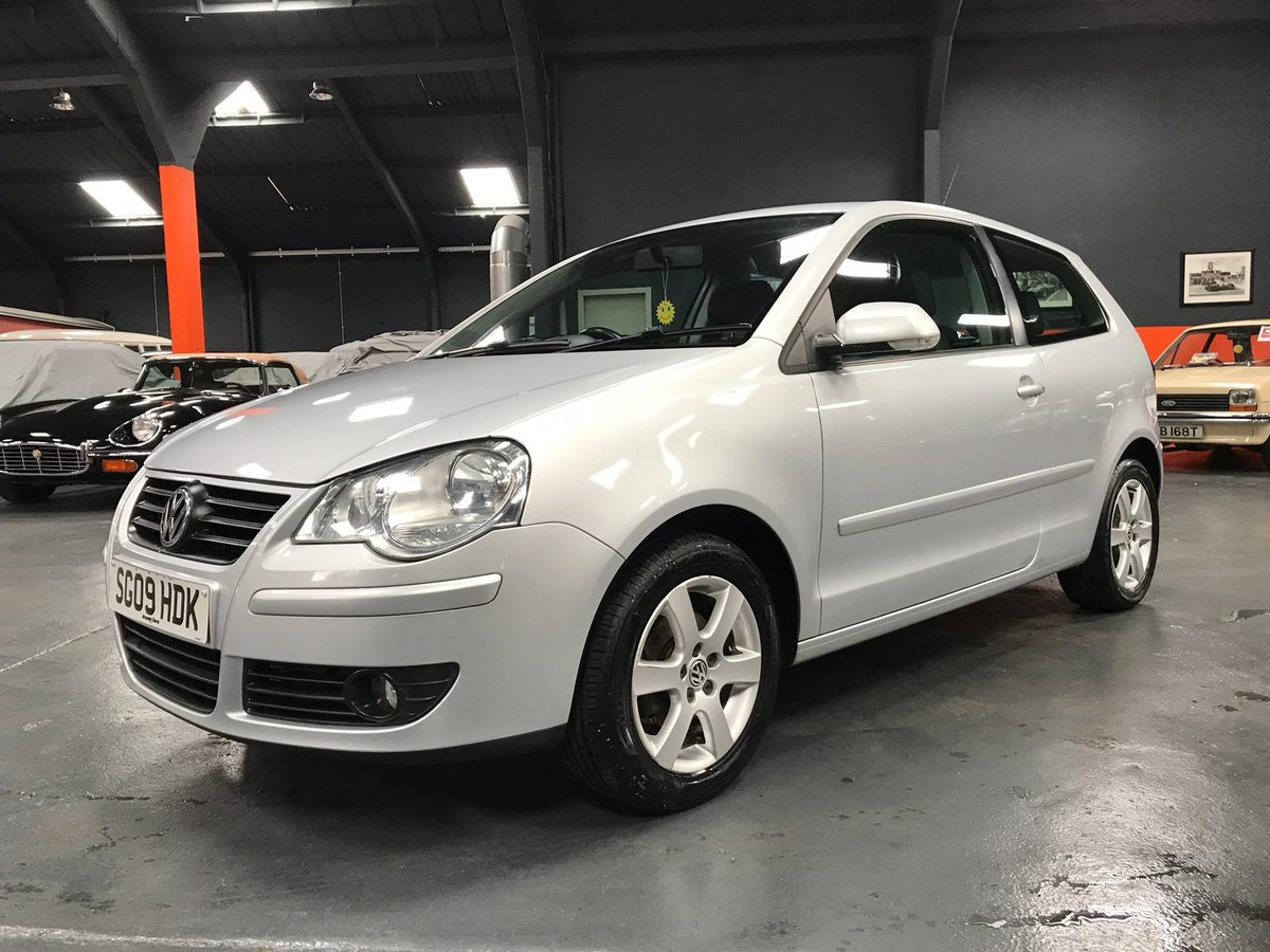 2009 VOLKSWAGEN POLO 1.2 MATCH 3d 59 BHP For Sale (picture 3 of 6)