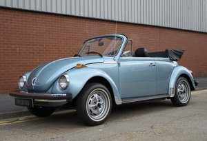 1979 Volkswagen Super Beetle By Karmann LHD For Sale In Lond For Sale