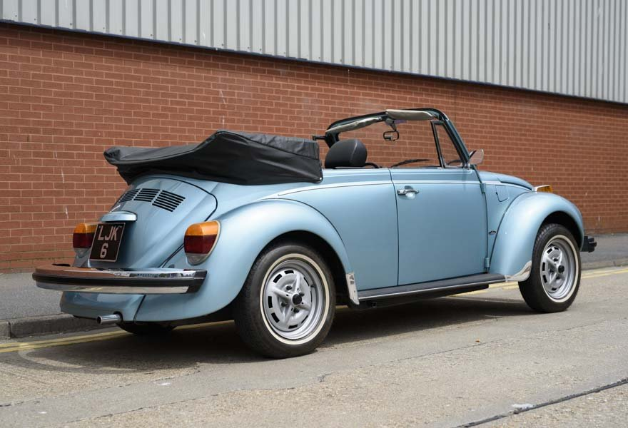1979 Volkswagen Super Beetle By Karmann LHD For Sale In Lond For Sale (picture 2 of 12)