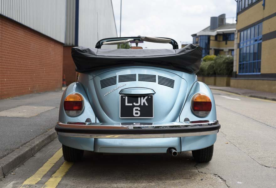 1979 Volkswagen Super Beetle By Karmann LHD For Sale In Lond For Sale (picture 5 of 12)
