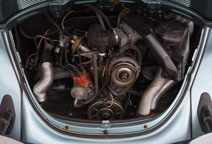 1979 Volkswagen Super Beetle By Karmann LHD For Sale In Lond For Sale (picture 12 of 12)
