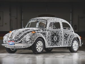 """1970 Volkswagen Beetle """"Casa Linda Lace"""" by Rafael Esparza-P For Sale by Auction"""