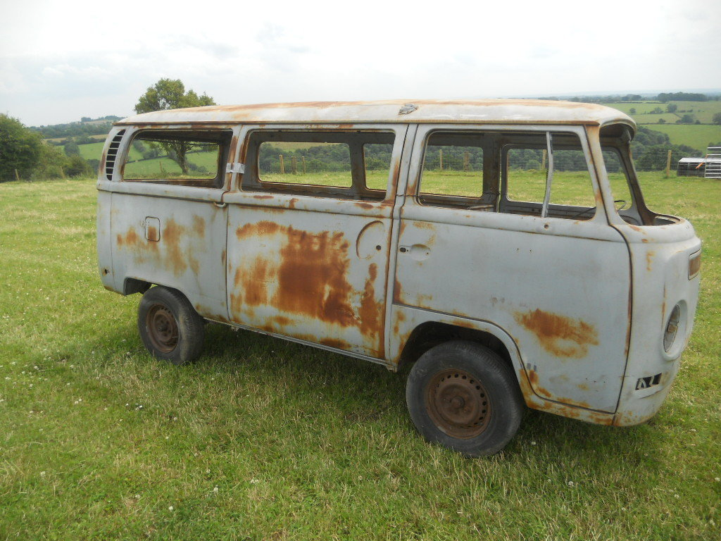 1971 VW Camper Van American import LHD Rust free  For Sale (picture 1 of 6)