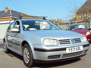 2001 Volkswagen Golf Mark 4 SE AUTOMATIC – 1.6 Petrol For Sale