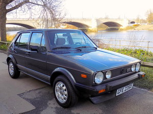 1982 VW Golf GTi MK1 1.6 5 Door - LHD - ULTRA RARE For Sale