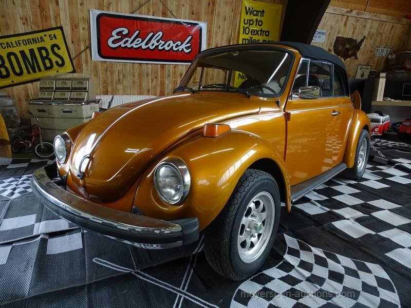1975 VOLKSWAGEN Kever cabriolet For Sale by Auction (picture 1 of 6)