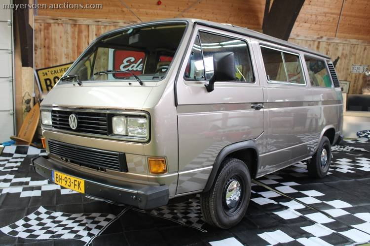 1983 VOLKSWAGEN Transporter T3  For Sale by Auction (picture 1 of 6)
