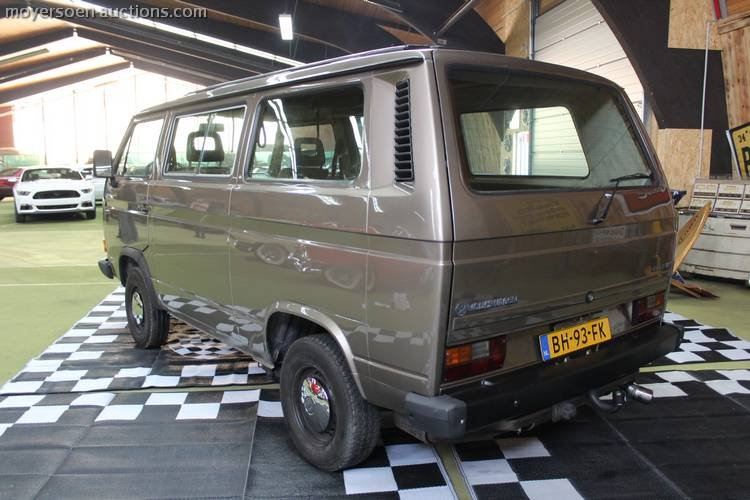 1983 VOLKSWAGEN Transporter T3  For Sale by Auction (picture 3 of 6)