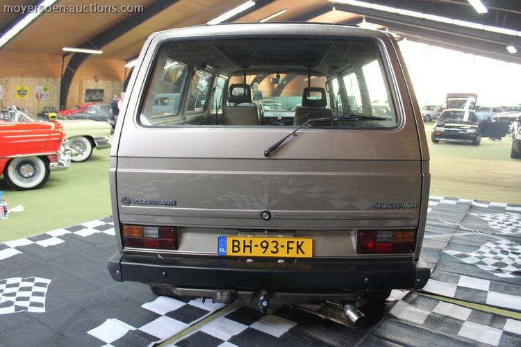 1983 VOLKSWAGEN Transporter T3  For Sale by Auction (picture 4 of 6)