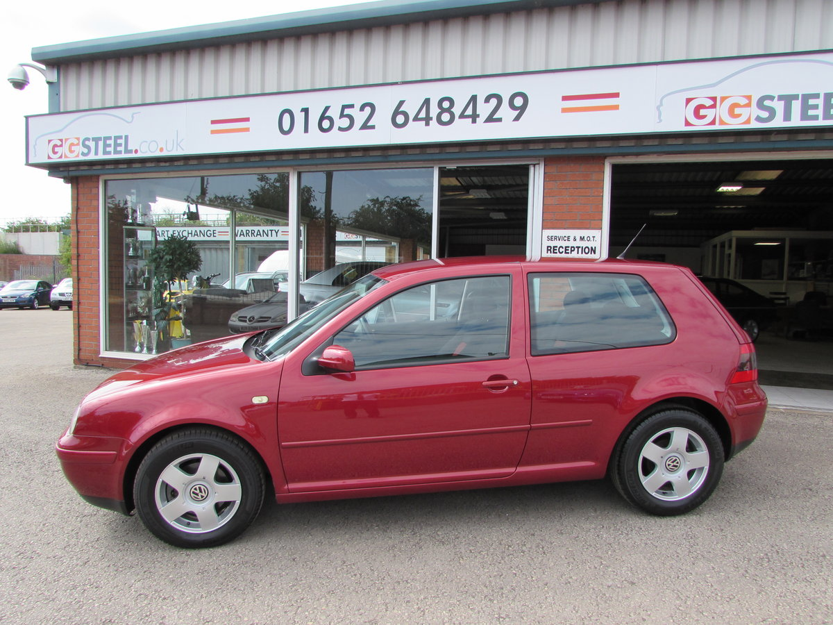 2000 Volkswagon Golf GTi 1 Lady owner 35360 Miles !!! For Sale (picture 1 of 10)