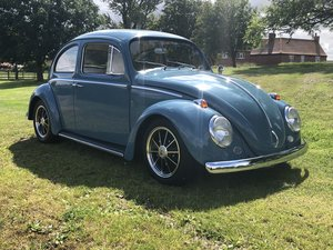 VW Beetle-Early 1962-sympathetic resto/subtle Cal Look. For Sale