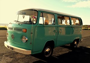 1975 Excellent condition, beautiful VW campervan
