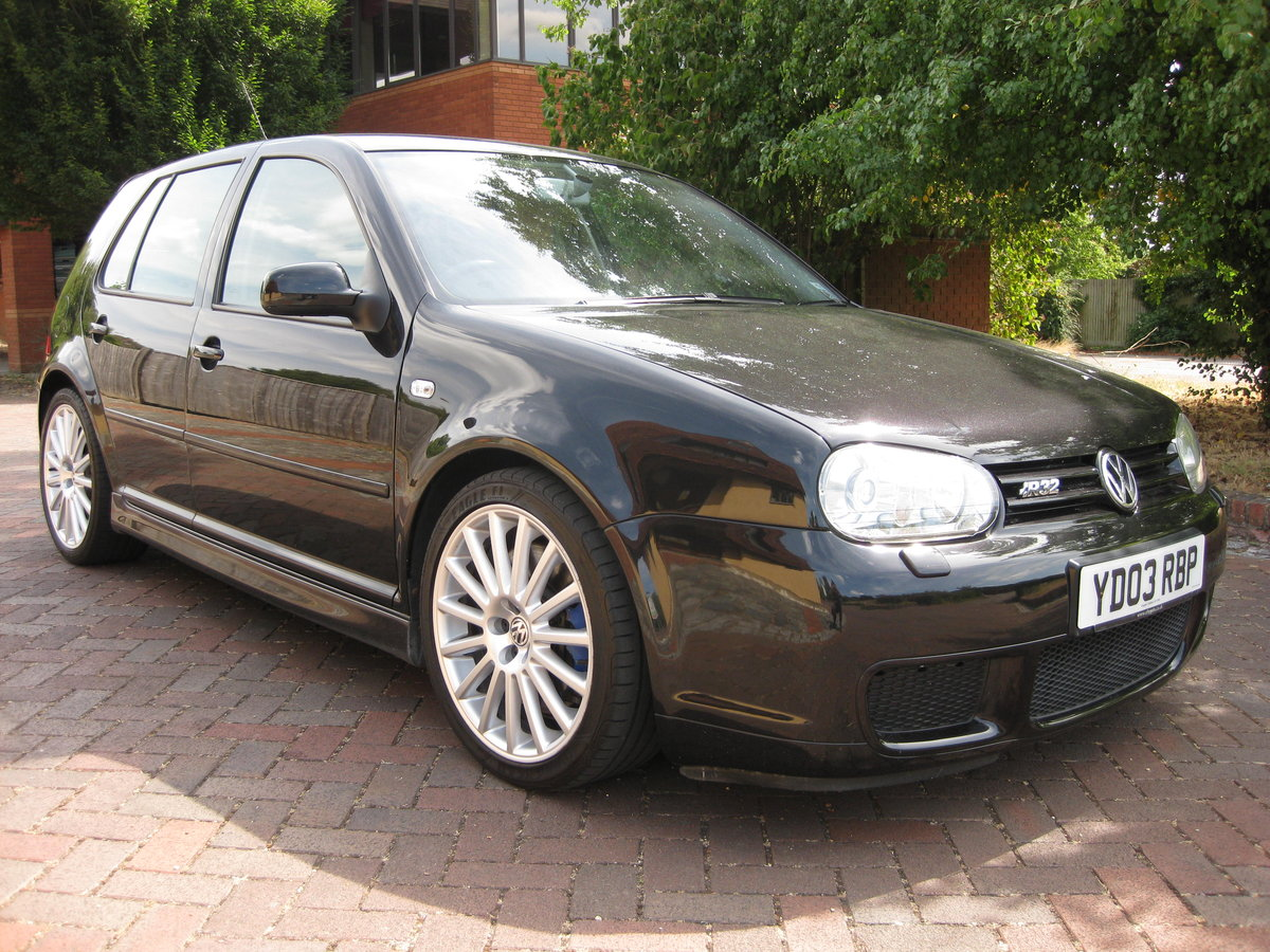 2003 VW GOLF R32 LAST OWNER SINCE 2004 FVWSH For Sale (picture 1 of 6)