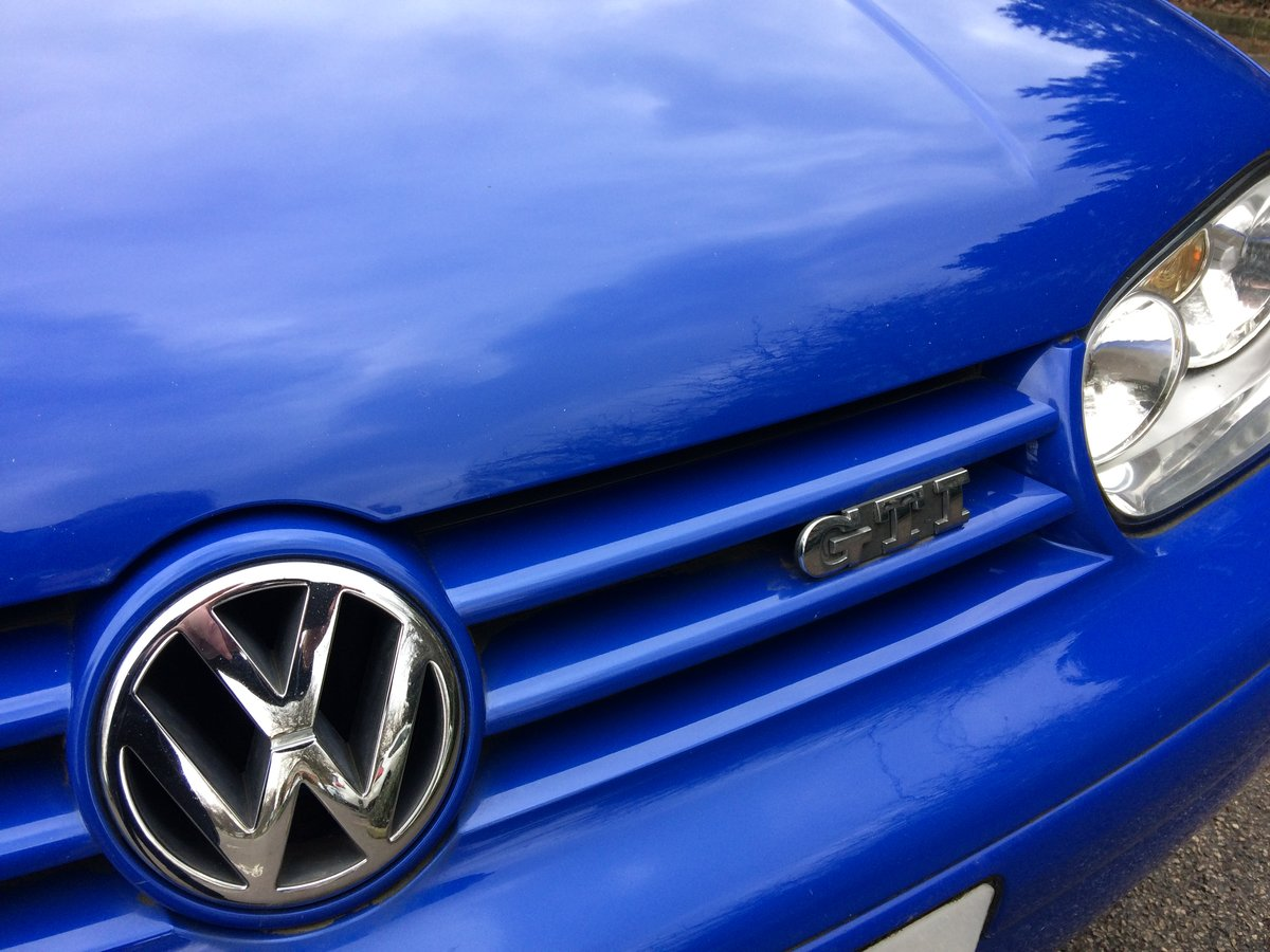 2001 Volkswagen GTi Golf Bargain low Mileage Good looki For Sale (picture 1 of 6)