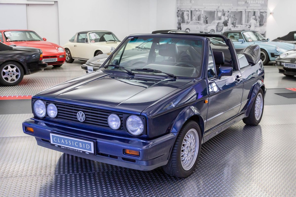 1993 Volkswagen Golf I Cabrio SOLD (picture 1 of 6)