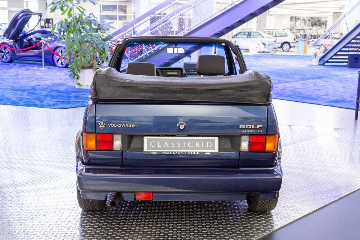 1993 Volkswagen Golf I Cabrio SOLD (picture 3 of 6)