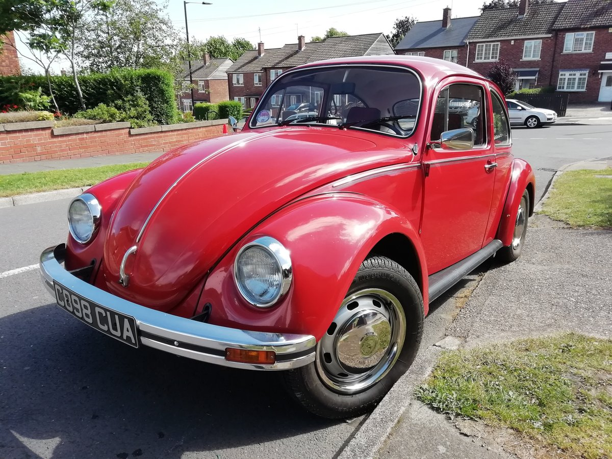 1985 VW Beetle 1200 deluxe LHD Rare For Sale (picture 1 of 6)