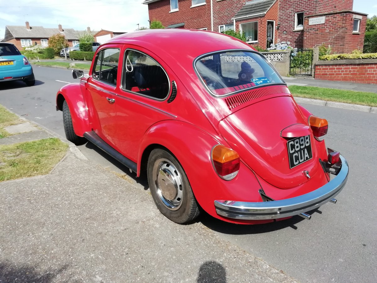 1985 VW Beetle 1200 deluxe LHD Rare For Sale (picture 2 of 6)