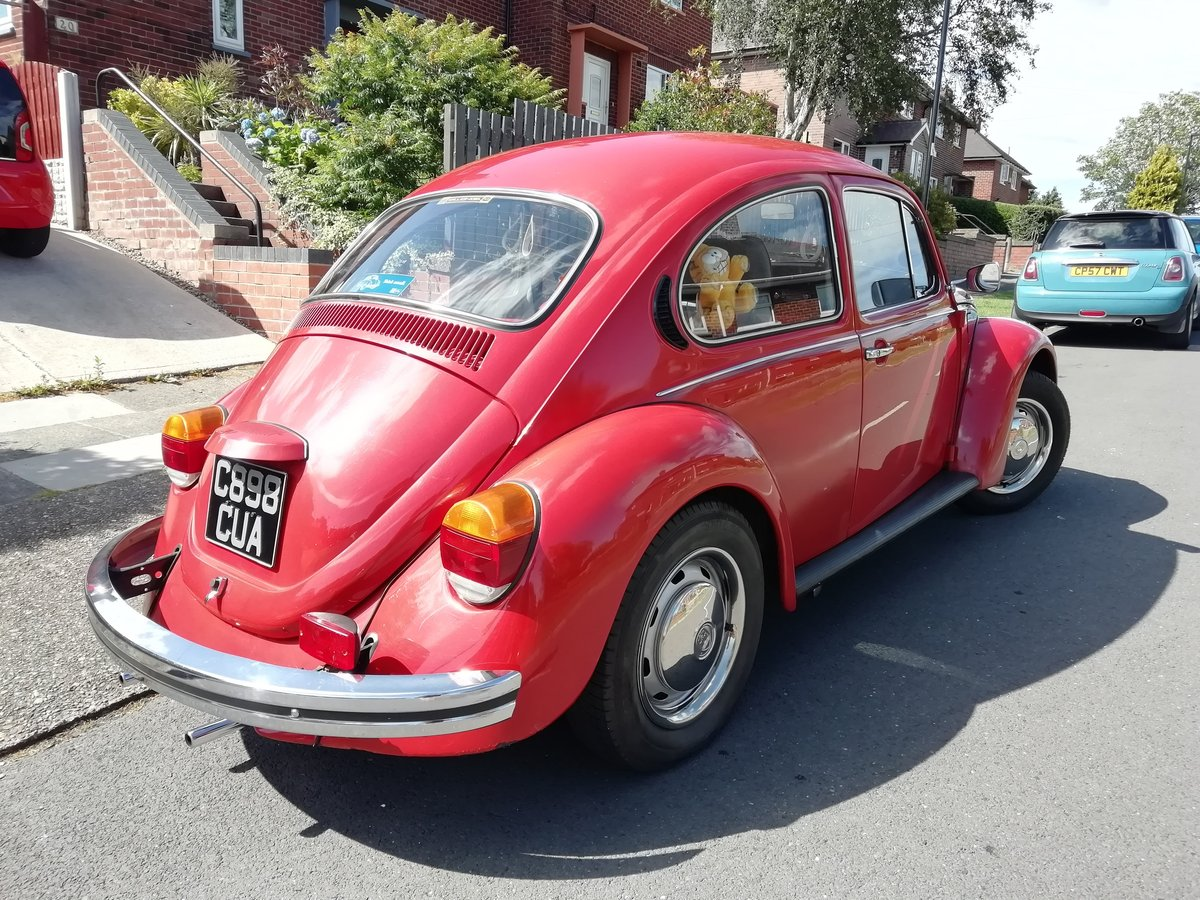 1985 VW Beetle 1200 deluxe LHD Rare For Sale (picture 3 of 6)