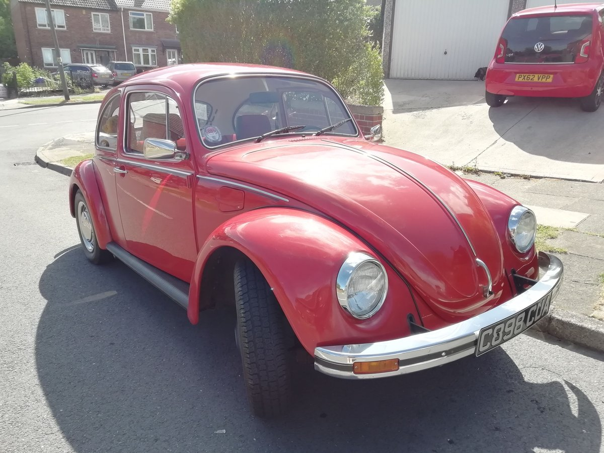 1985 VW Beetle 1200 deluxe LHD Rare For Sale (picture 4 of 6)
