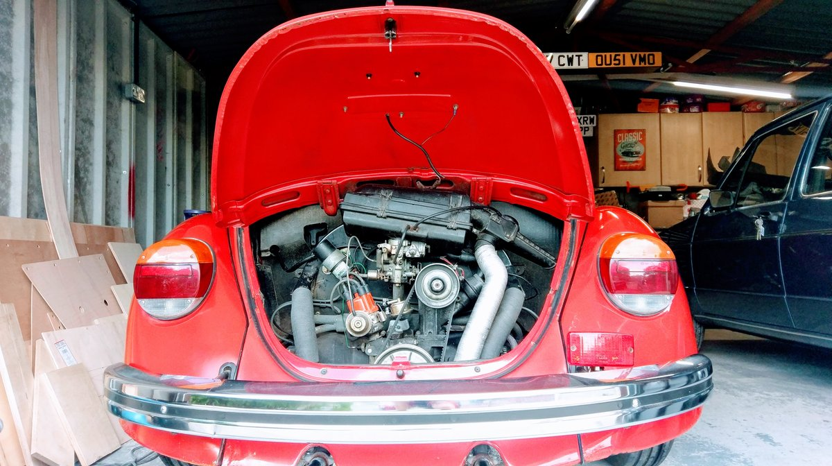 1985 VW Beetle 1200 deluxe LHD Rare For Sale (picture 5 of 6)