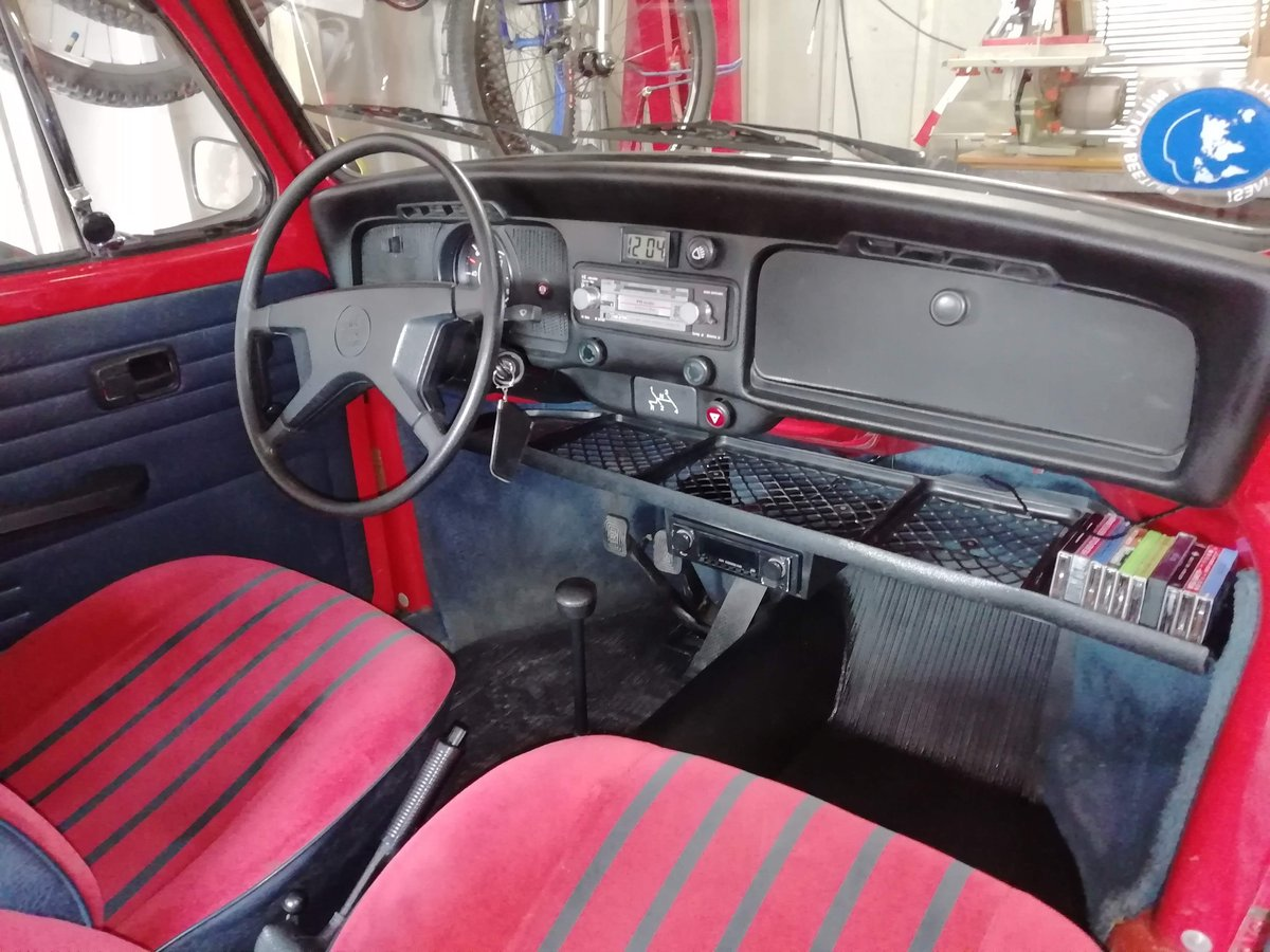 1985 VW Beetle 1200 deluxe LHD Rare For Sale (picture 6 of 6)
