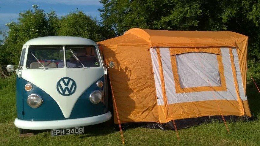 1964 VW split screen camper; original interior For Sale (picture 1 of 6)