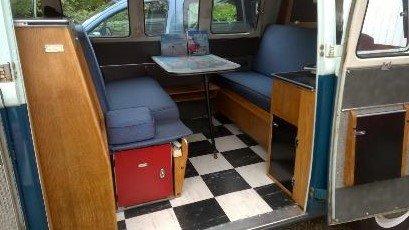 1964 VW split screen camper; original interior For Sale (picture 5 of 6)