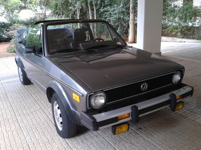 VW GOLF CABRIOLET RABBIT 1983 Excellent Cond.  For Sale (picture 1 of 6)