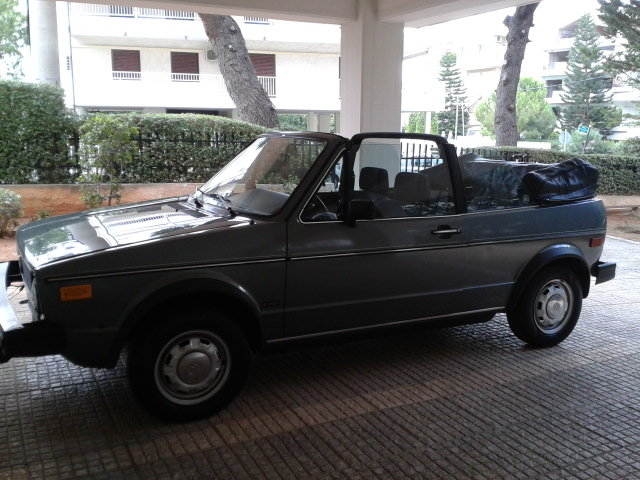 VW GOLF CABRIOLET RABBIT 1983 Excellent Cond.  For Sale (picture 2 of 6)