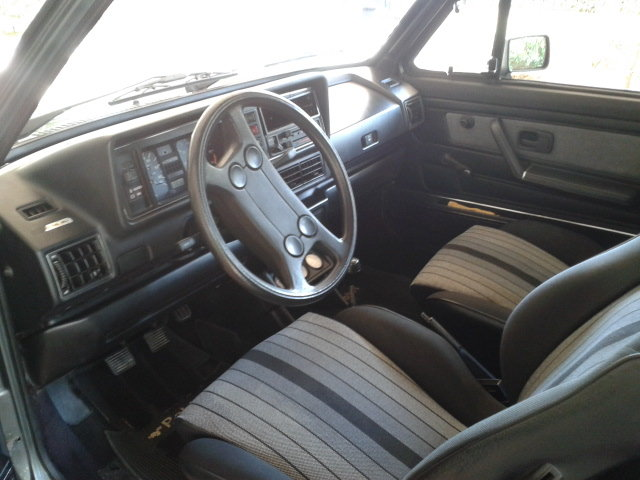 VW GOLF CABRIOLET RABBIT 1983 Excellent Cond.  For Sale (picture 4 of 6)