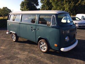 1974 VW T2 camper baywindow For Sale