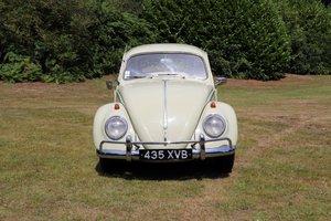 1958 Volkswagen Beetle RHD Export De Luxe