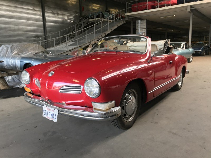 1972 Volkswagen Karmann Ghia Convertible For Sale (picture 1 of 4)