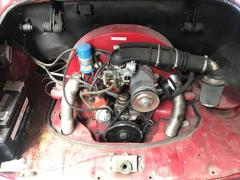 1972 Volkswagen Karmann Ghia Convertible For Sale (picture 3 of 4)