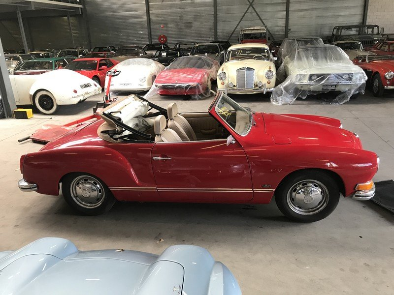 1972 Volkswagen Karmann Ghia Convertible For Sale (picture 4 of 4)