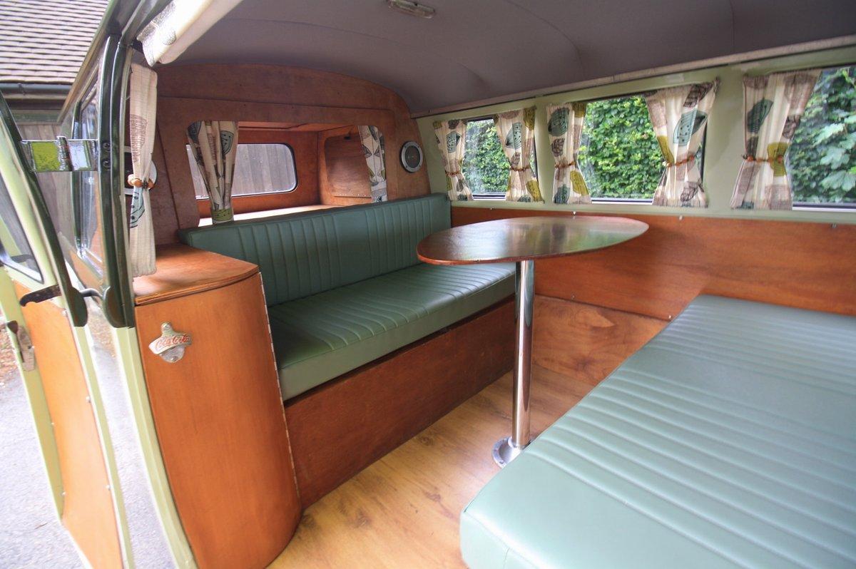 1951 Volkswagen Split Screen 'Barn Door' 23 A Kombi.  For Sale (picture 5 of 6)