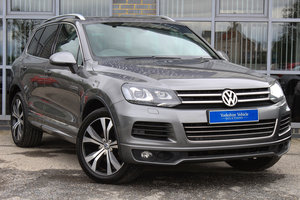 2013 63 VOLKSWAGEN TOUAREG 3.0 V6 R-LINE TDI BLUEMOTION AUTO For Sale