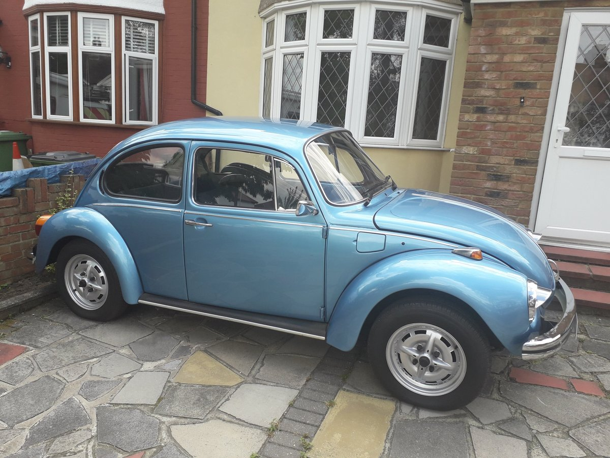 1973 Volkswagen 1300 Beetle Selling with reget For Sale (picture 1 of 3)