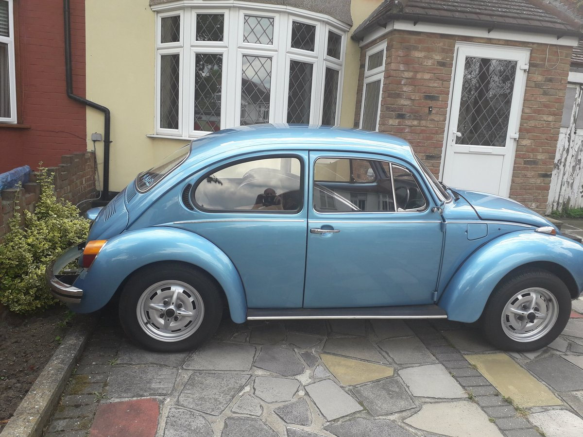 1973 Volkswagen 1300 Beetle Selling with reget For Sale (picture 2 of 3)