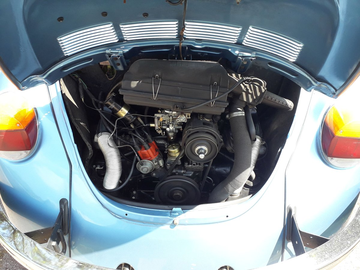 1973 Volkswagen 1300 Beetle Selling with reget For Sale (picture 3 of 3)