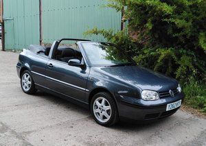"2001 VW Golf Mk3.5 2.0 SE ""Trendline"" Convertible For Sale"
