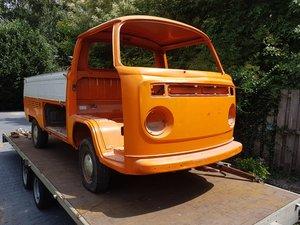 1974 VW T2 Pickup Pritsche for restoration