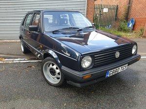 1990 Mk2 Golf 1.6 TD Wolfsburg Edition For Sale